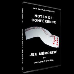 """DVD """"JEU MEMORISÉ"""" DE..."""