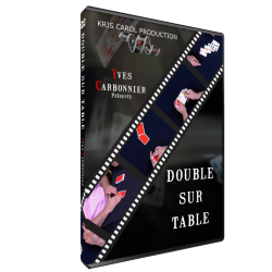 DVD DOUBLE SUR TABLE DE...