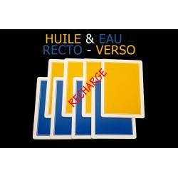 RECHARGE HUILE & EAU...